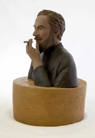 Fumatorul, sculptura de Constantin Brancusi