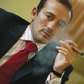 Radu Mazare, un veritabil fumator