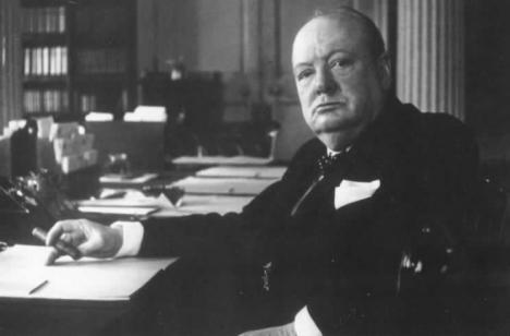 Winston Churchill, Str. Downing Nr.10